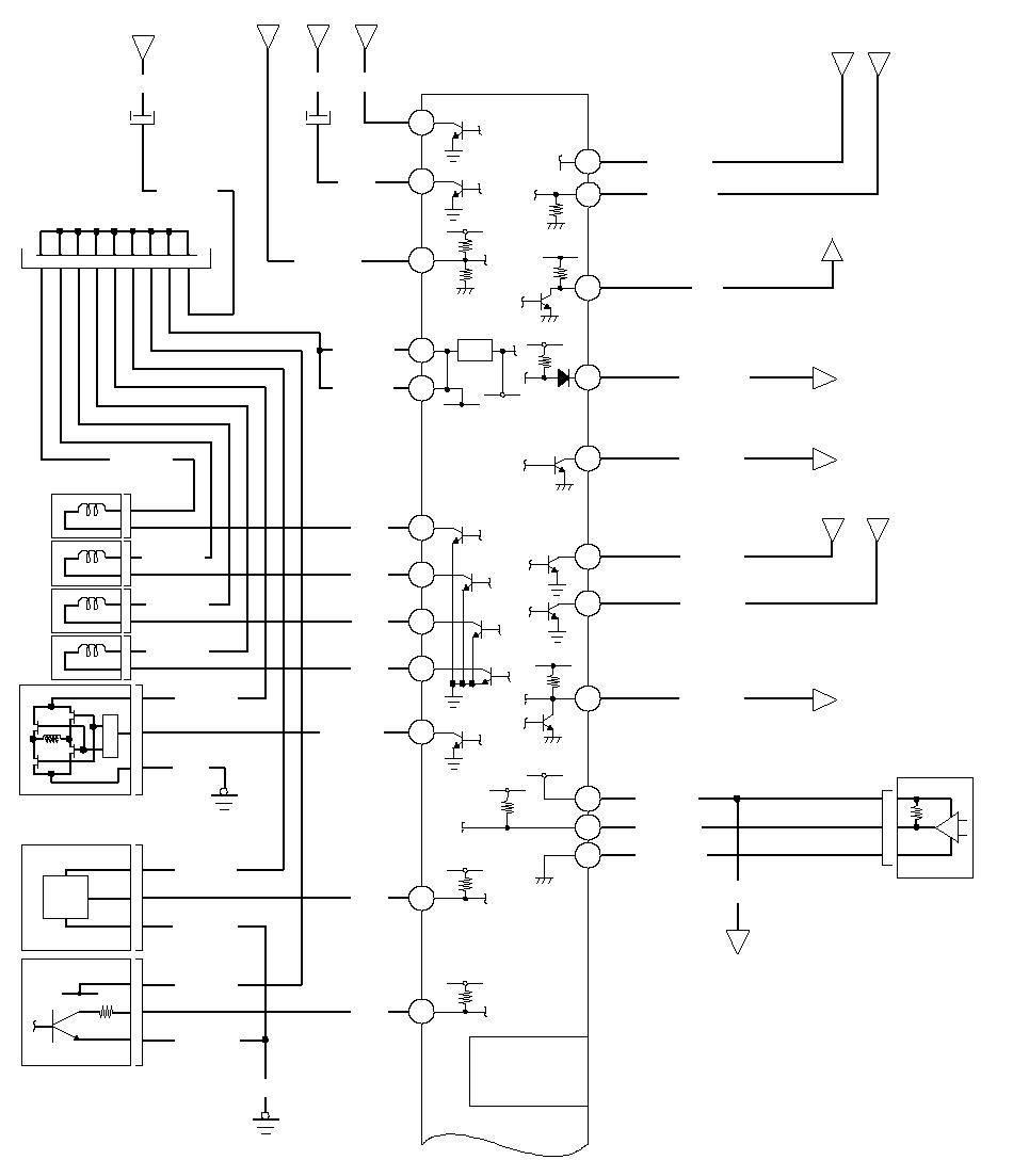 Kraftstoff- und Abgassysteme Beschreibung – Schaltplan: L13A6 (CVT)